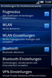 Sony Ericsson Xperia X8 - WLAN - Manuelle Konfiguration - 5 / 10