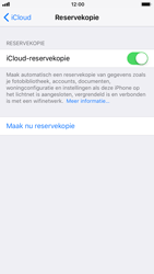 Apple iPhone 6 - iOS 11 - toestel resetten - back-up maken met jouw account - stap 12