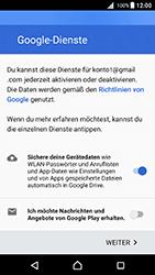 Sony Xperia X - Apps - Konto anlegen und einrichten - 17 / 20