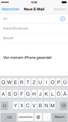 Apple iPhone 5c - E-Mail - E-Mail versenden - 0 / 0