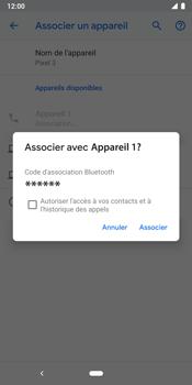 Google Pixel 3 - Internet et connexion - Connexion avec un équipement multimédia via Bluetooth - Étape 8