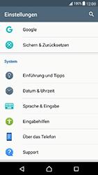 Sony Xperia X Compact - Gerät - Zurücksetzen auf die Werkseinstellungen - Schritt 4