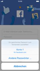 Apple iPhone SE - iOS 11 - Automatisches Ausfüllen der Anmeldedaten - 2 / 2