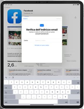 Apple iPad Pro 10.5 (1st gen) - iPadOS 13 - Applicazioni - Configurazione del negozio applicazioni - Fase 20