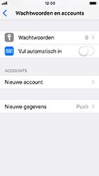 Apple iphone-se-met-ios-12-model-a1723 - E-mail - Handmatig instellen - Stap 5