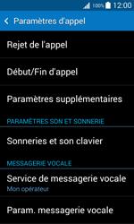 Samsung G318H Galaxy Trend 2 Lite - Messagerie vocale - Configuration manuelle - Étape 5