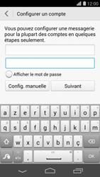 Huawei Ascend P7 - E-mail - Configurer l