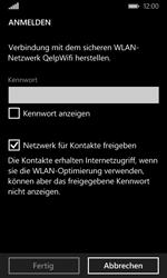 Microsoft Lumia 435 - WLAN - Manuelle Konfiguration - Schritt 7