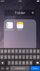 Apple iPhone 6 iOS 8 - Startanleitung - Personalisieren der Startseite - Schritt 7