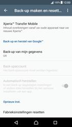 Sony Xperia XA - Android Nougat - Resetten - Fabrieksinstellingen terugzetten - Stap 5
