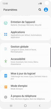 Samsung Galaxy S10e - Applications - Comment désinstaller une application - Étape 4