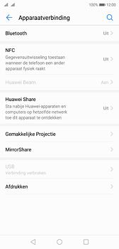 Huawei P20 - bluetooth - aanzetten - stap 4