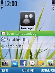 Nokia 6700 slide - netwerk en bereik - gebruik in binnen- en buitenland - stap 1