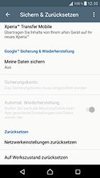 Sony F8331 Xperia XZ - Fehlerbehebung - Handy zurücksetzen - Schritt 7