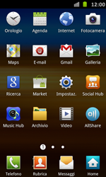 Samsung Galaxy S Advance - Rete - Selezione manuale della rete - Fase 3