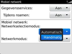 BlackBerry 9360 Curve - netwerk en bereik - gebruik in binnen- en buitenland - stap 6