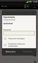 HTC One V - WLAN - Manuelle Konfiguration - 7 / 9
