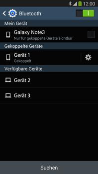Samsung Galaxy Note III LTE - Bluetooth - Verbinden von Geräten - Schritt 8