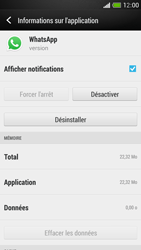 HTC One Mini - Applications - Comment désinstaller une application - Étape 6