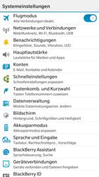 BlackBerry Leap - E-Mail - Konto einrichten - 0 / 0