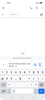 Oppo Reno 4 Pro - Contact, Appels, SMS/MMS - Envoyer un SMS - Étape 12