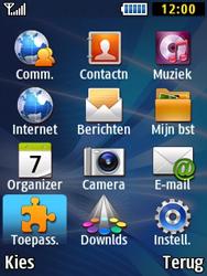 Samsung B2710 Xcover 271 - Bluetooth - Aanzetten - Stap 2