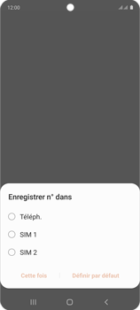Samsung Galaxy Note 10 Lite - Contact, Appels, SMS/MMS - Ajouter un contact - Étape 5