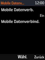 Nokia 3310 - Ausland - Auslandskosten vermeiden - Schritt 8