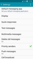 Samsung A500FU Galaxy A5 - SMS - Manual configuration - Step 6