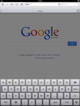 Apple iPad Retina - Internet und Datenroaming - Verwenden des Internets - Schritt 9