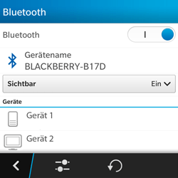 BlackBerry Q5 - Bluetooth - Geräte koppeln - 2 / 2