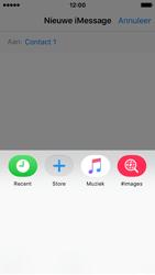 Apple iPhone SE - iOS 10 - iOS features - Stuur een iMessage - Stap 17