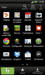 HTC C525u One SV - E-mail - envoyer un e-mail - Étape 2