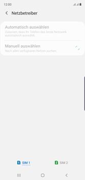 Samsung Galaxy Note 10 - Netzwerk - Manuelle Netzwerkwahl - Schritt 10