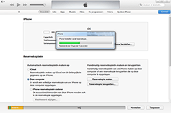 Apple iPhone 5 - Software - Back-up maken of terugplaatsen - Stap 7