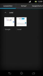 Sony Xperia T - Internet und Datenroaming - Verwenden des Internets - Schritt 10