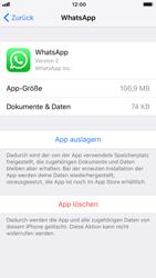 Apple iPhone 8 - iOS 12 - Apps - Eine App deinstallieren - Schritt 6