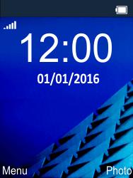 Nokia 225 - MMS - Configuration manuelle - Étape 1