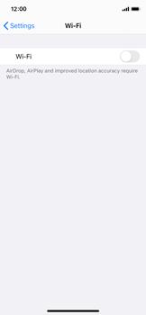 Apple iPhone X - iOS 14 - WiFi - WiFi configuration - Step 4