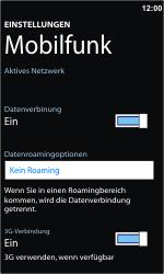 Nokia Lumia 800 - Internet - Manuelle Konfiguration - Schritt 5