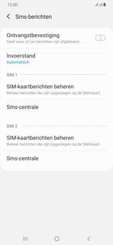 Samsung Galaxy A30 - sms - handmatig instellen - stap 11