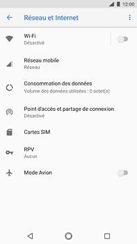 Nokia 6 (2018) - Internet - Désactiver les données mobiles - Étape 5