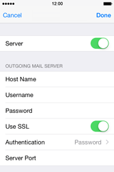 Apple iPhone 4 S - iOS 8 - Email - Manual configuration POP3 with SMTP verification - Step 19