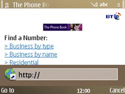 Nokia E72 - Internet - Internet browsing - Step 15
