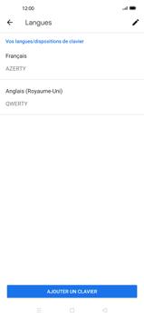 Oppo Find X2 Pro - Prise en main - Comment ajouter une langue de clavier - Étape 12