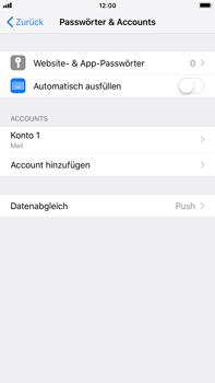 Apple iPhone 6 Plus - iOS 12 - E-Mail - Konto einrichten - Schritt 25
