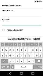LG X Power - E-Mail - Konto einrichten - Schritt 7