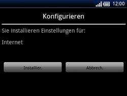 Sony Ericsson Xperia X10 Mini Pro - Internet - Automatische Konfiguration - Schritt 7