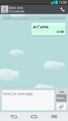 LG G2 - Contact, Appels, SMS/MMS - Envoyer un SMS - Étape 10