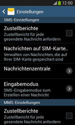 Samsung Galaxy Core Plus - SMS - Manuelle Konfiguration - 1 / 1